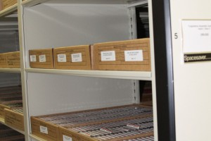 4-Post Shelving on Mobile Shelving System