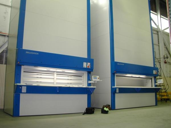 Vertical Carousels for Industrial Use