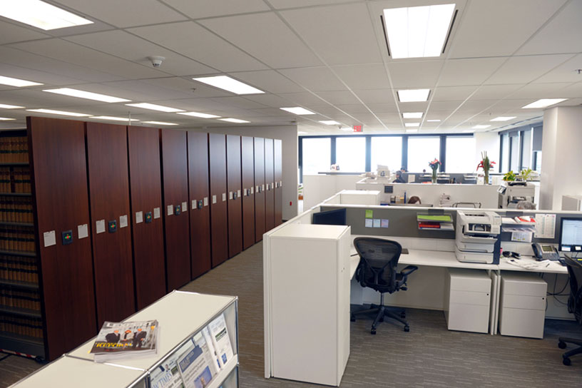Custom storage solutions donnegan systems inc boston new england donnegan systems inc - Business office ...