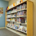 Compact Library Storage for Children's Library Shelving