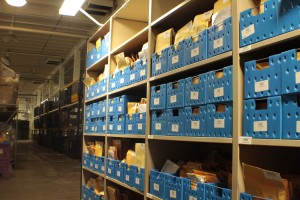 Evidence and Property Storage on 4-Post Static Shelving