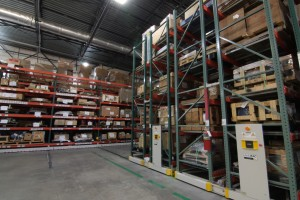 Mobile Pallet Racking for Industrial Warehouse Storage