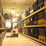 Mobile Shelving System for Warehouse Shelving