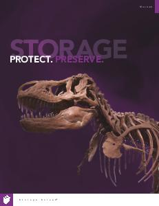 Museum storage cabinets and compact shelving - Catalog and lookbook