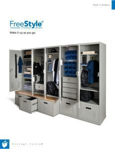 Free PDF with information about our police lockers.