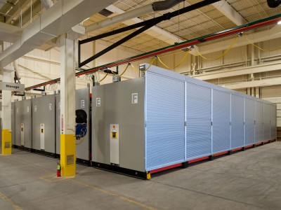 Secure Military Storage on High-Density Mobile Storage System