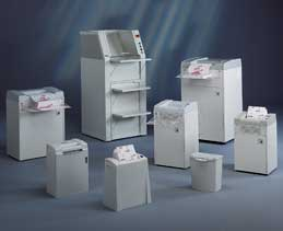document shredders of all sizes