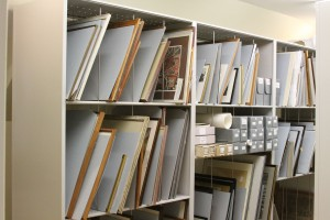 Static Gallery Storage Shelving