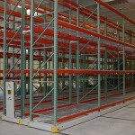 Warehouse Shelving on Mobile Shelving System