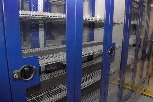 Pharmaceutical Storage Cabinets with Wire Shelving