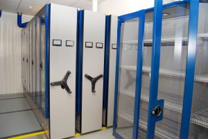 Wire Shelving in Pharmaceutical Storage Cabinets