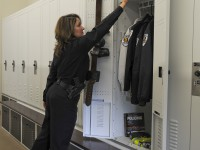 Customizable Police Locker for Police Equipment Storage