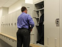 Police Lockers with Customizable Shelving Storage System