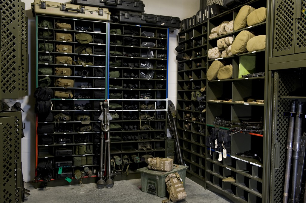Military Equipment Storage Donnegan Systems Inc