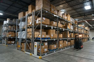 Mobile Pallet Racking for Military Equipment Storage