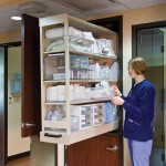Patient Care Supplies Storage 1