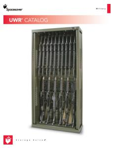 Weapons Rack Catalog - military storage - base and deployment