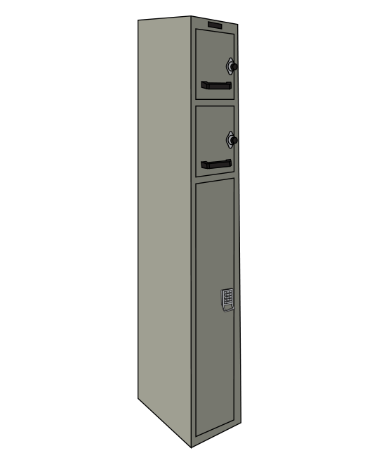 Fast Response locker - Safety Locker