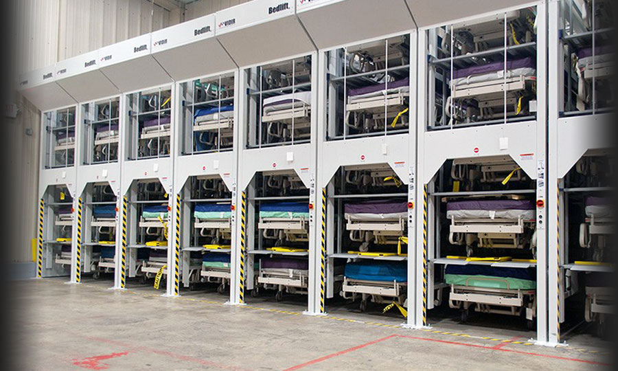Hospital Bed Storage Donnegan Systems Inc