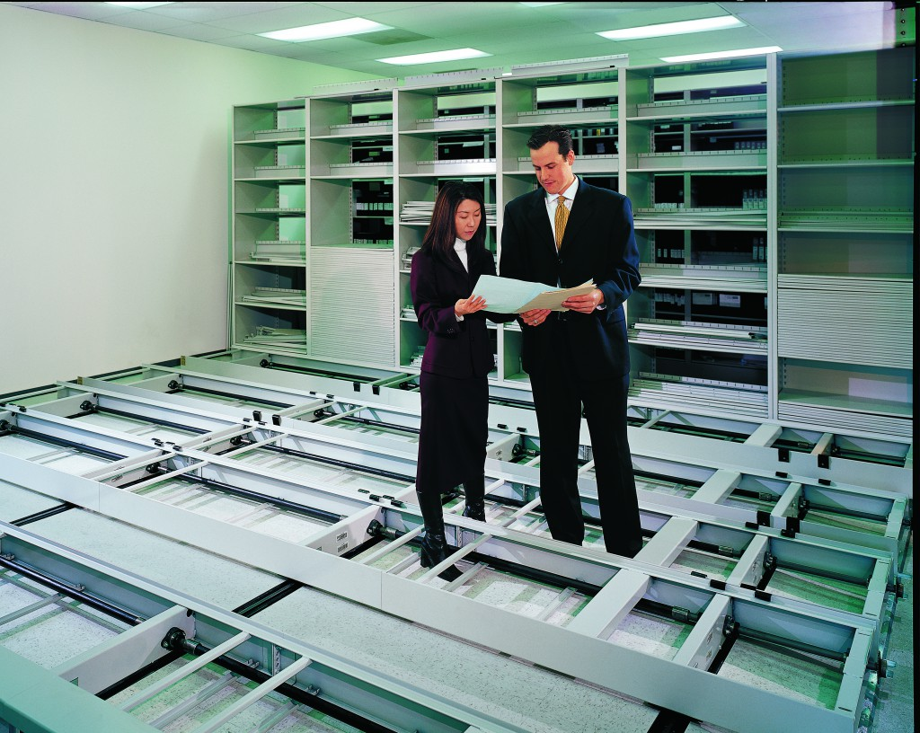 Sales Reps reviewing high-density mobile installation